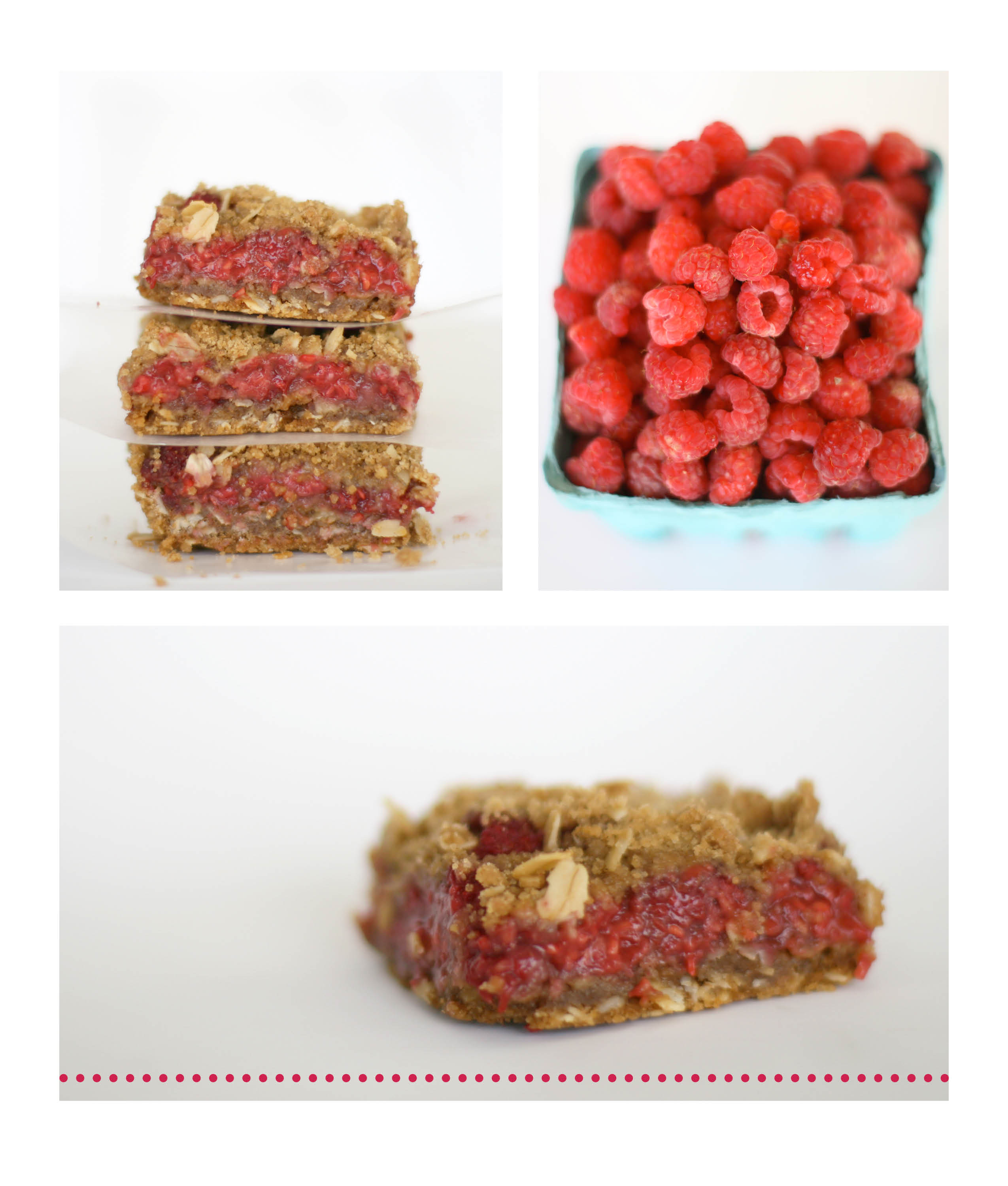 Raspberry Breakfast Bars Recipes — Dishmaps